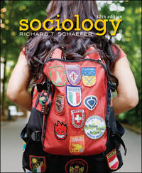 Sociology by Richard T. Schaefer - 2009-09-18