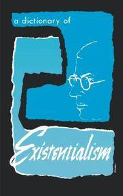 A Dictionary of Existentialism
