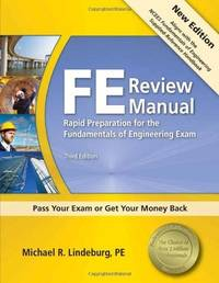 FE Review Manual Rapid Preparation for the Fundamentals of Engineering Exam