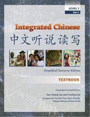 Integrated Chinese: Level 1, Part 1 Simplified Character Edition  (Textbook) (English and Chinese...