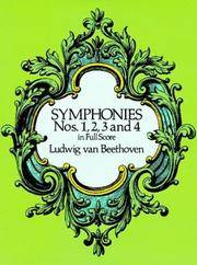 Symphonies Nos 1, 2, 3 and 4 In Full Score