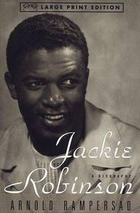 image of Jackie Robinson: A Biography (Random House Large Print)