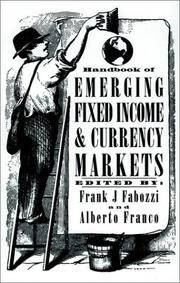Handbook of Emerging Fixed Income and Currency Markets