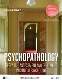 9781118659335 - Psychopathology: Research, Assessment and
