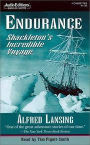 Endurance: Shackleton's Incredible Voyage by Alfred Lansing - 2000-08-05 - from Books Express and Biblio.com