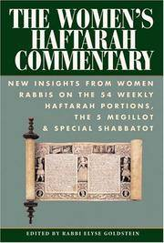 The Women's Haftarah Commentary New Insights from Women Rabbis on the 54 Weekly Haftarah...