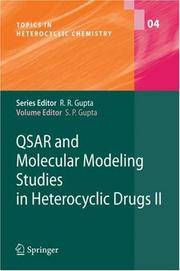 QSAR and Molecular Modeling Studies in Heterocyclic Drugs II