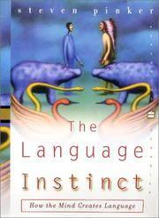 image of The Language Instinct: How the Mind Creates Language (Perennial Classics)