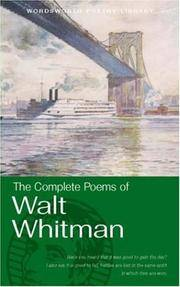 Complete Poems Of Whitman