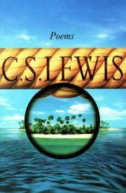 Poems by C. S. Lewis - Paperback - from Revaluation Books (SKU: __0006278337)