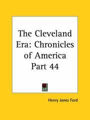 image of The Cleveland Era (Chronicles of America, Part 44)