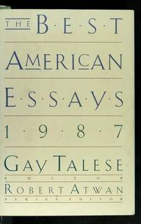 The Best American Essays 1987