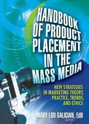 Handbook of Product Placement in the Mass Media: New Strategies in Marketing Theory, Practice,...