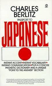 Passport To Japanese