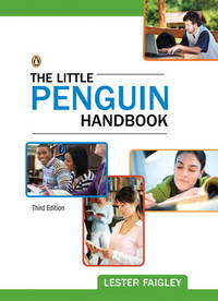 The Little Penguin Handbook by  Lester Faigley - 2011-07-24 - from Universal Textbook (SKU: SKU0038240)