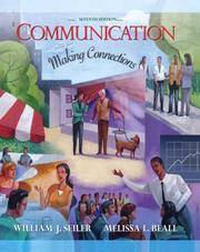image of Communication: Making Connections (7th Edition)