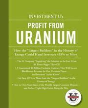 Investment U's Profit From Uranium