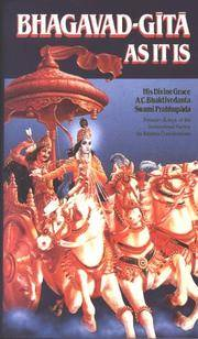 Bhagavad-Gita As It Is (Paperback)