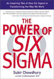 THE POWER OF SIX SIGMA :