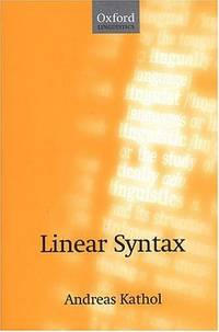 Linear Syntax (Oxford Linguistics Ser.)