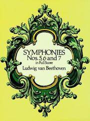 Symphonies Nos 5, 6 and 7 In Full Score