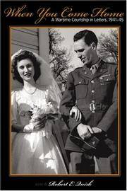 When You Come Home: A Wartime Courtship in Letters, 1941-45 (Great Lakes Books Series)