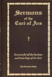 Sermons of the Curé of Ars
