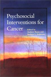 Psychosocial Interventions for Cancer