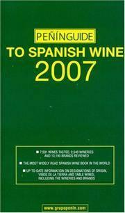Penin Guide to Spanish Wine 2007