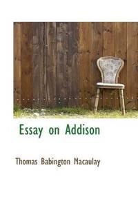 Essay On Addison