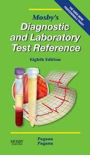 image of Mosby's Diagnostic and Laboratory Test Reference (Mosby's Diagnostic & Laboratory Test Reference)