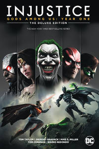 image of Injustice: Gods Among Us: Year One: the Deluxe Edition