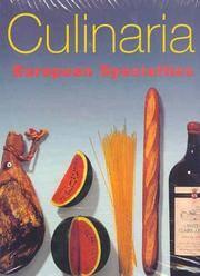 Culinaria: European Specialties (Single Volume edition)
