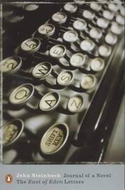 "image of Journal of a Novel: The ""East of Eden"" Letters (Penguin Modern Classics)"