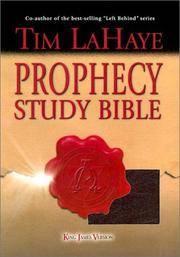 image of Prophecy Study Bible: King James Version Genuine Burgundy