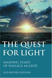 The Quest For Light