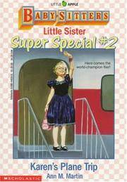Karen's Plane Trip (Baby-Sitters Little Sister Super Special, No. 2) by  Ann M Martin - Paperback - 1991 - from Gulf Coast Books and Biblio.com