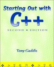 Starting Out w/C++ 2nd Edition (With CdRom)