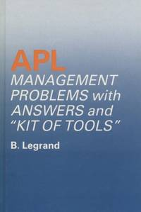 A. P. L.: Management Problems with Answers and Kit of Tools