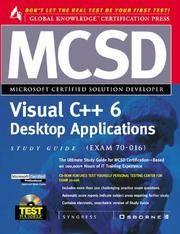 MCSD Visual C++ Desktop Applications Study Guide