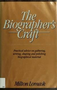 The Biographer's Craft