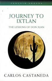 image of Journey to Ixtlan: Lessons of Don Juan (Arkana)