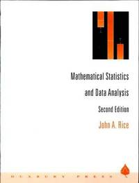 Mathematical statistics and data analysis by rice john a image of mathematical statistics and data analysis fandeluxe Choice Image