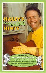 Haley's Cleaning Hints Haley, Graham and Haley, Rosemary