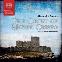 image of The Count of Monte Cristo (Unabridged Fiction) (Naxos Complete Classics) (Audio CD)