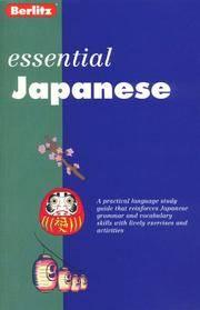 Japanese (Berlitz Essentials)