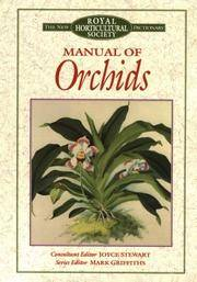 Manual of Orchids (New Royal Horticultural Society Dictionary)