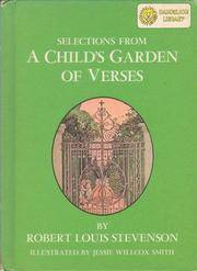 image of Selections from A child's garden of verses