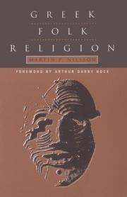 Greek Folk Religion by  Martin P Nilsson - Paperback - from buyhereforbestdeals and Biblio.com