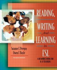image of Reading, Writing and Learning in ESL: A Resource Book for K-12 Teachers (4th Edition)